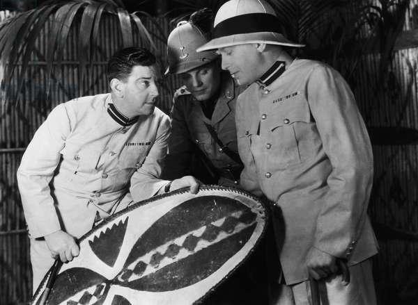 Bozambo: SANDERS OF THE RIVER, Leslie Banks, Robert Cochran, Martin Walker, 1935