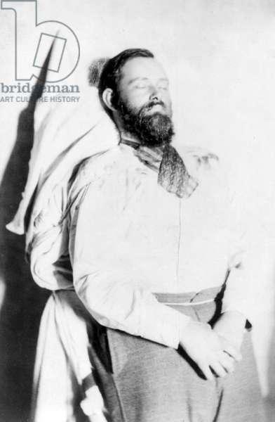 Wild West. Jesse James, dead, ca. 1882