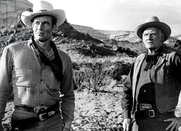 THE BIG COUNTRY, Charlton Heston, Charles Bickford, 1958