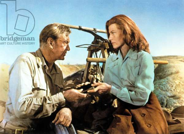 THEY CAME TO CORDURA, Gary Cooper, Rita Hayworth, 1959