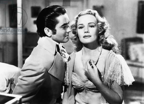SON OF FURY, from left: Tyrone Power, Frances Farmer, 1942, TM & Copyright © 20th Century Fox Film Corp./courtesy Everett Collection
