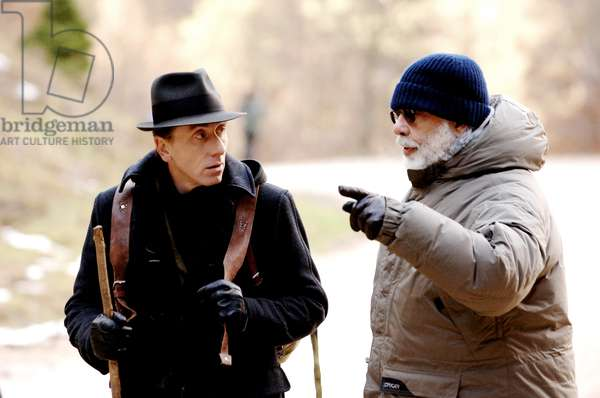 YOUTH WITHOUT YOUTH, Tim Roth, director Francis Ford Coppola, on set, 2007. ©Sony Pictures Classics/courtesy Everett Collection