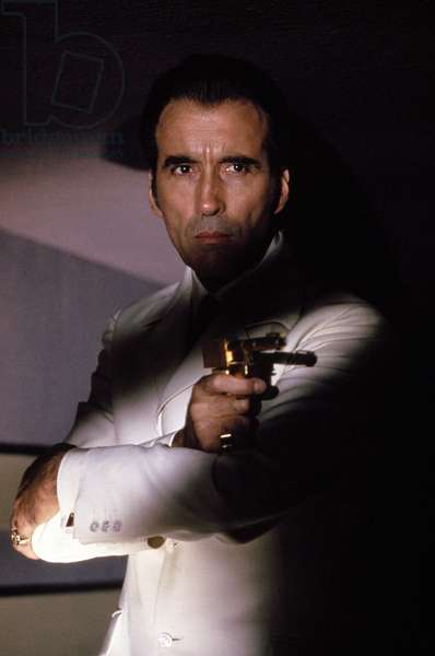 THE MAN WITH THE GOLDEN GUN, Christopher Lee, 1974.