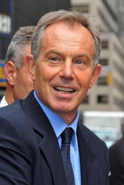 Tony Blair: Ex-Prime Minister Tony Blair at talk show appearance for The Late Show with David Letterman - TUE, Ed Sullivan Theater, New York, NY September 8, 2009. Photo By: Gregorio T. Binuya/Everett Collection