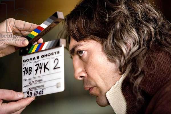 GOYA'S GHOSTS, Javier Bardem, on set, 2006. ©Warner Bros./courtesy Everett Collection