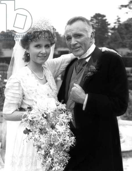 ELLIS ISLAND, Kate Burton, Richard Burton, 1984, © CBS / Courtesy: Everett Collection