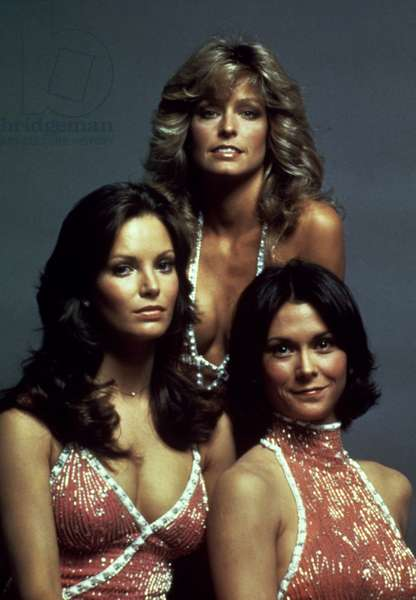 CHARLIE'S ANGELS, Jaclyn Smith, Farrah Fawcett, Kate Jackson, 1976-1981