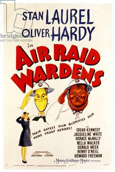 Laurel et Hardy chefs d'ilots