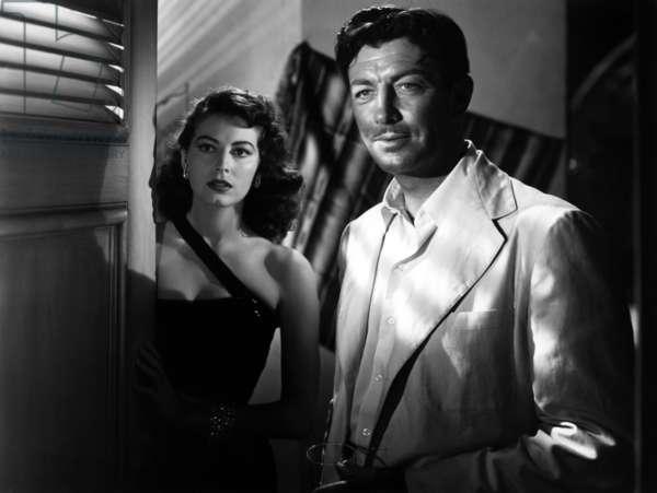 L 'le au complot: THE BRIBE, Ava Gardner, Robert Taylor, 1949