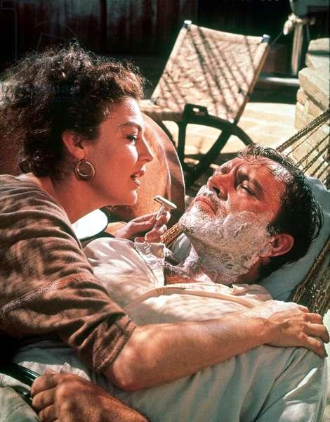 THE NIGHT OF THE IGUANA, Ava Gardner, Richard Burton, 1964