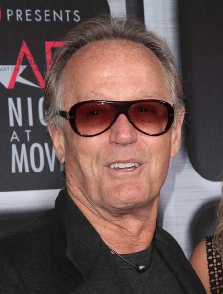 Peter Fonda: Peter Fonda at arrivals for Target Presents AFI Night At The Movies, Arclight Hollywood, Los Angeles, CA April 24, 2013. Photo By: James Amherst/Everett Collection