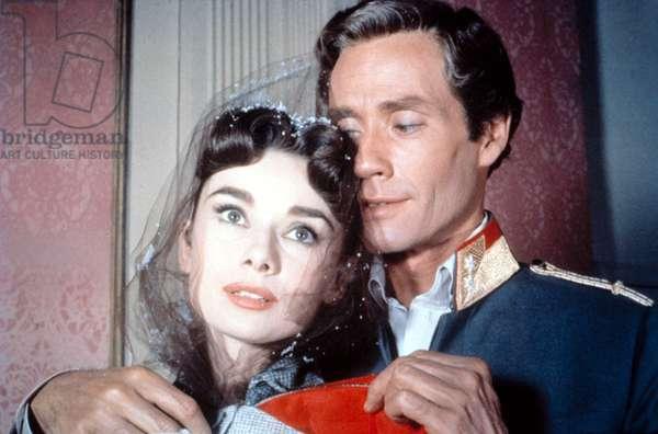 PRODUCERS' SHOWCASE, 'Mayerling', Audrey Hepburn, Mel Ferrer, 02-04-1957, 1954 - 1957.