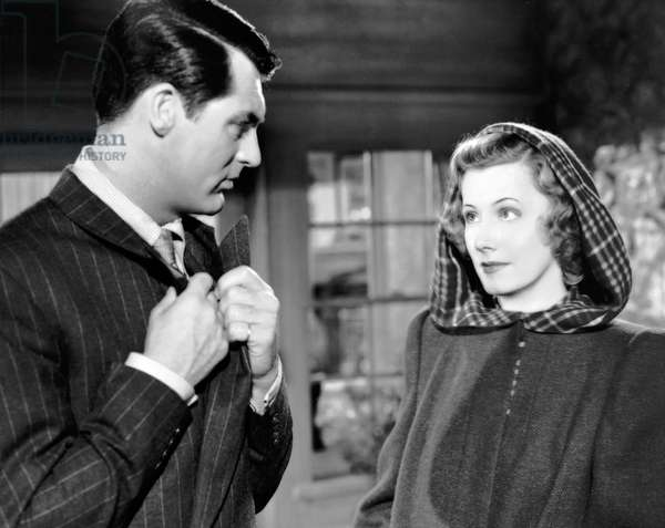 MY FAVORITE WIFE, Cary Grant, Irene Dunne, 1940