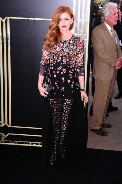 Isla Fisher at arrivals for THE GREAT GATSBY Premiere, Avery Fisher Hall at Lincoln Center, New York, NY May 1, 2013. Photo By: Gregorio T. Binuya/Everett Collection