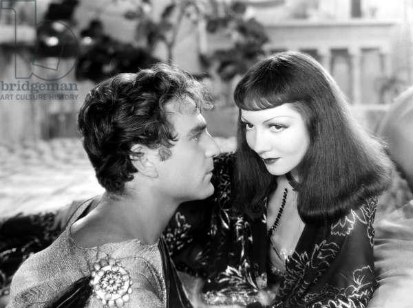 CLEOPATRA, Henry Wilcoxon, Claudette Colbert, 1934