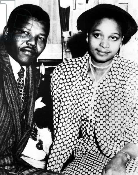 Nelson Mandela, Winnie Mandela before his inprisonment