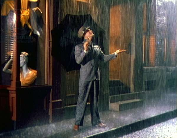 SINGIN' IN THE RAIN, Gene Kelly, 1952