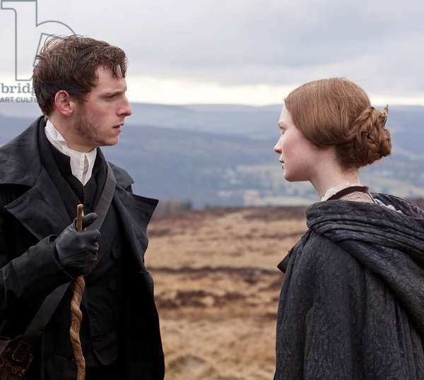 Jane Eyre: JANE EYRE, from left: Jamie Bell, Mia Wasikowska, 2011. ph: Laurie Sparham/©Focus Features/Courtesy Everett Collection