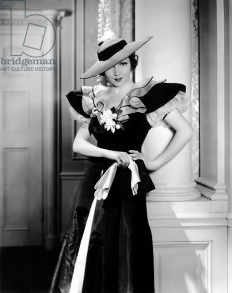 SHE MARRIED HER BOSS, Claudette Colbert, 1935