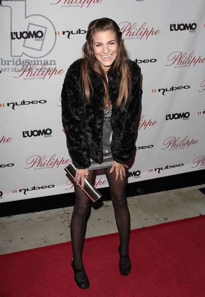 Rachel McCord at arrivals for L'Uomo Vogue Cover Launch Party, Philippe West Hollywood, Los Angeles, CA October 12, 2009. Photo By: Adam Orchon/Everett Collection