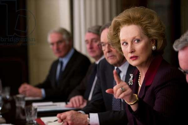 La Dame de Fer: THE IRON LADY, Meryl Streep as Margaret Thatcher, 2011. ph: Alex Bailey/©Weinstein Company/courtesy Everett Collection