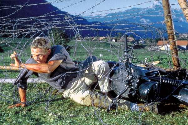THE GREAT ESCAPE, Steve McQueen, 1963.