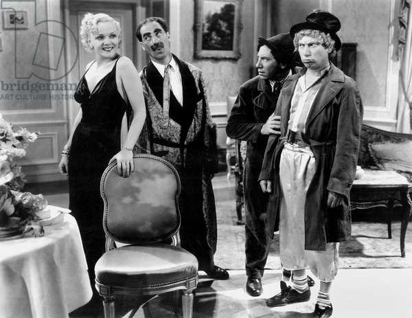 DAY AT THE RACES: A DAY AT THE RACES, Esther Muir, Groucho Marx, Chico Marx, Harpo Marx, 1937