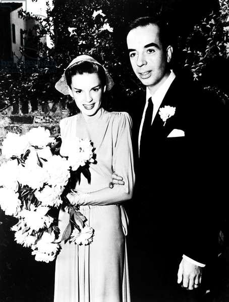 The wedding of Judy Garland and Vincente Minnelli, June 15, 1945
