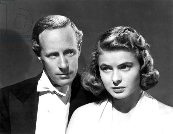 La rancon du bonheur: INTERMEZZO, Leslie Howard, Ingrid Bergman, 1939