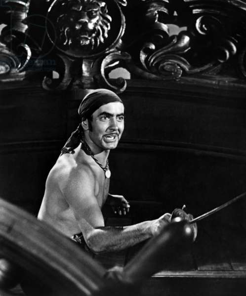 Le cygne noir: THE BLACK SWAN, Tyrone Power, 1942. TM and Copyright © 20th Century Fox Film Corp. All rights reserved. Courtesy: Everett Collection.
