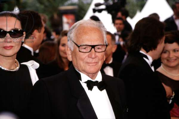 Pierre Cardin at Cannes Film Festival, 2000, by Thierry Carpico