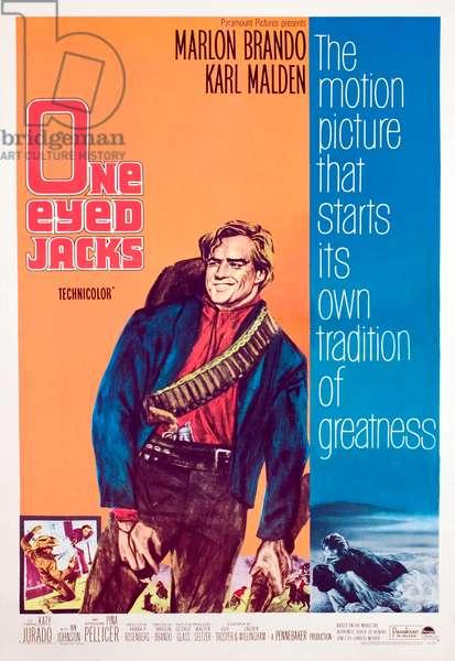 ONE-EYED JACKS, Marlon Brando, 1961.