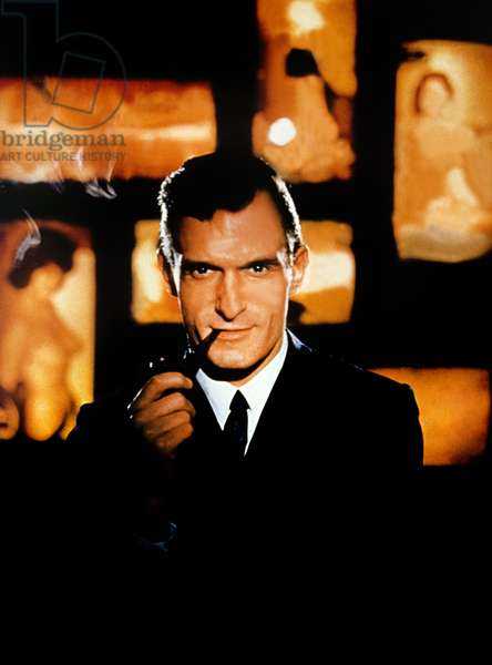 HUGH HEFNER: ONCE UPON A TIME, key art, Hugh Hefner, 1992