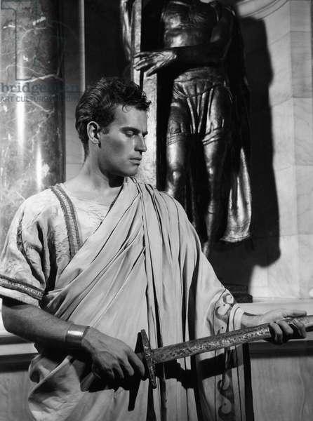 JULIUS CAESAR, Charlton Heston, 1950