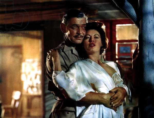 MOGAMBO, Clark Gable, Ava Gardner, 1953