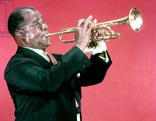LOUIS ARMSTRONG, c. late 1950s-early 1960s