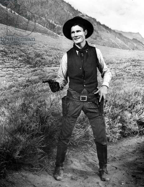SHANE, Jack Palance, 1953.