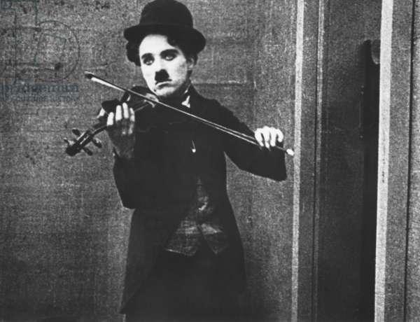 THE VAGABOND, Charlie Chaplin, 1916