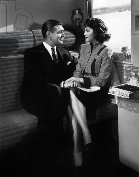 Marchands d'illusions: THE HUCKSTERS, Clark Gable, Ava Gardner, 1947
