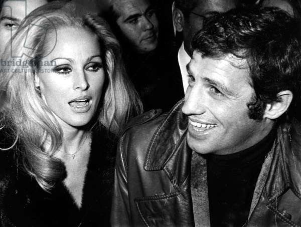 Ursula Andress and Jean-Paul Belmondo, circa late 1960s