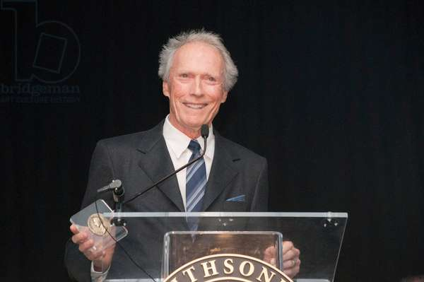 Clint Eastwood at arrivals for Grand Opening of The Warner Brothers Theater, The Smithsonian National Museum of American History, Washington DC, DC February 1, 2012. Photo By: Stephen Boitano/Everett Collection