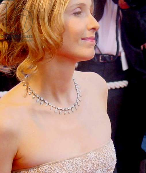 Julie Delpy at the Cannes Film Festival 5/2002, by Thierry Carpico.