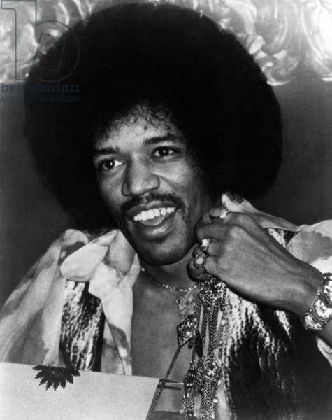 Jimi Hendrix, ca. late 1960s