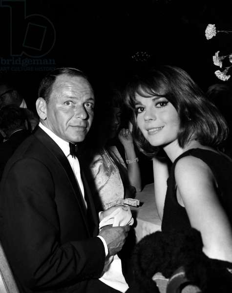 FRANK SINATRA with NATALIE WOOD, c. late 1960s