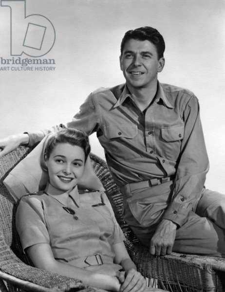 THE HASTY HEART, Patricia Neal, Ronald Reagan, 1949