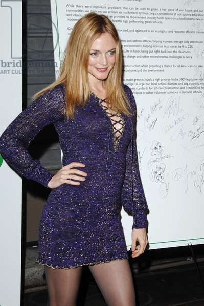 Heather Graham at arrivals for 6th Annual Global Green USA Pre-Oscar Party Benefitting Green Schools, Avalon Hollywood nightclub, Los Angeles, CA 2/19/2009. Photo By: Roth Stock/Everett Collection