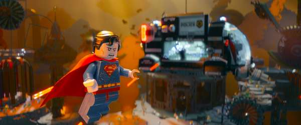 THE LEGO MOVIE, Superman, 2014. ©Warner Bros. Pictures/courtesy Everett Collection