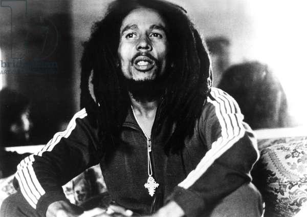 Bob Marley, 1970s, photo by Chuck Pulin
