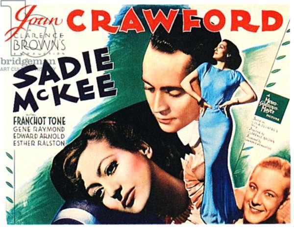 Sadie McKee: SADIE McKEE, Joan Crawford, Franchot Tone, Gene Raymond, 1934