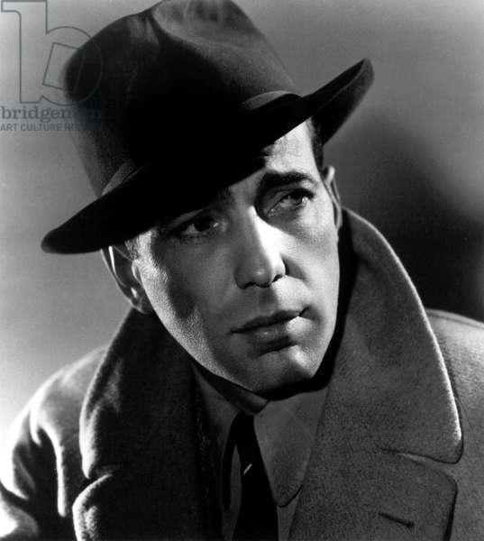CASABLANCA, Humphrey Bogart, 1942.